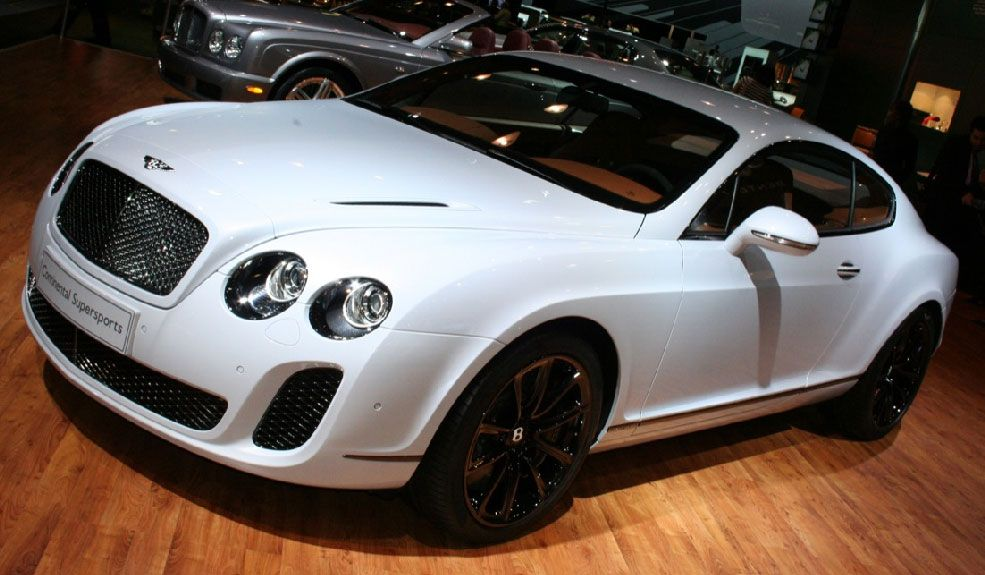 Bentley Continental Supersports For 2010 Just British