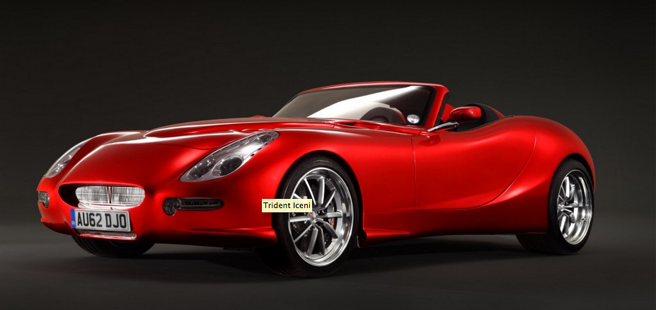 Trident To Launch Fast And Efficient Sports Cars Just British - Current sports cars