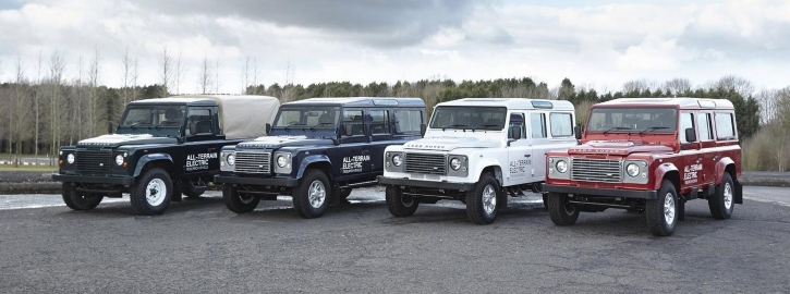 Land Rover Electric Models