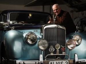 British Cars Bay of Plenty club president Ron Harvey