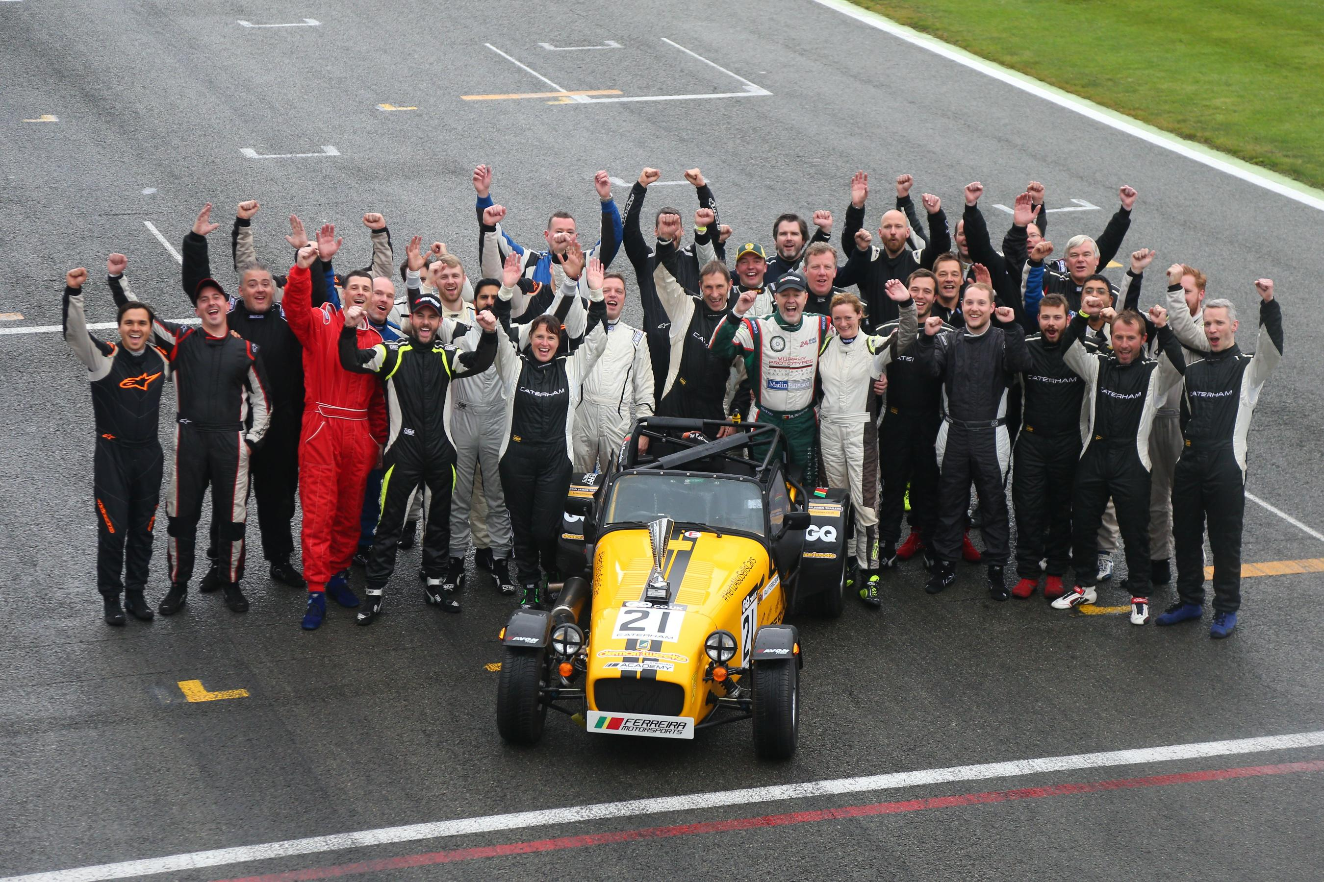 Caterham Closes Season at Silverstone - Just British