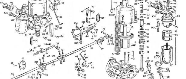 SU Carburetor Diagram