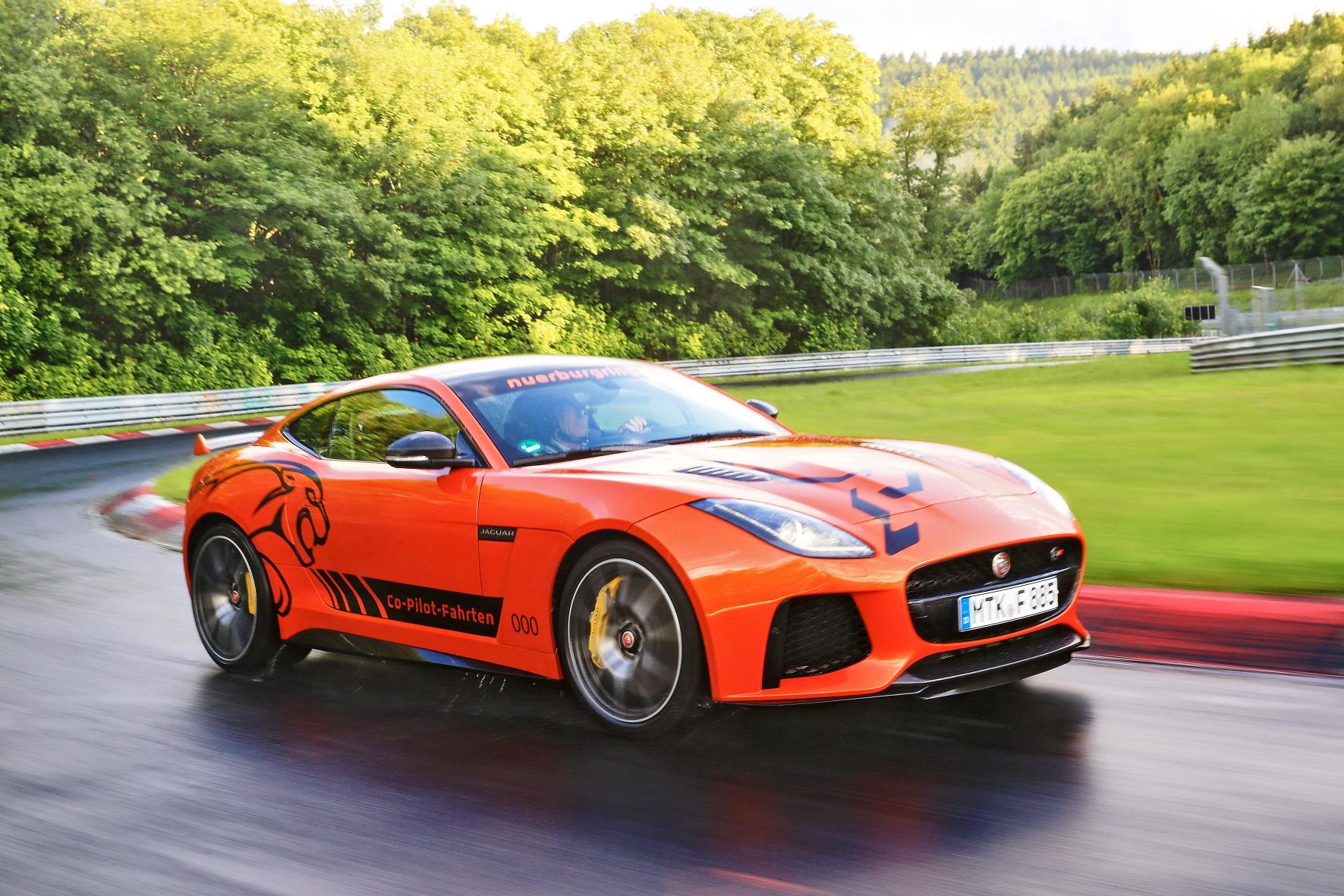 f type svr at n rburgring just british. Black Bedroom Furniture Sets. Home Design Ideas