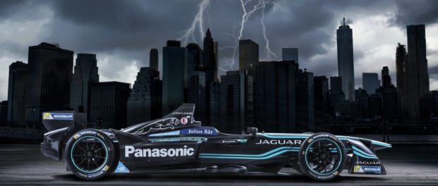 Jaguar Formula-E to New York