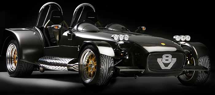 Caterham V8 - Ultimate British Sports Car