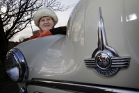 Ann Ford, Assistant Club Secretary of the Morris Minor Club