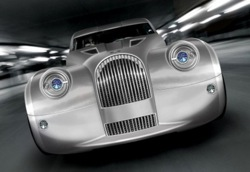 Morgan's cars look like they were designed in the 1930s