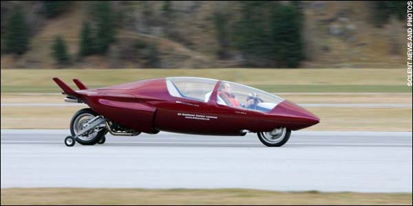 "The Acabion GTBO ""road streamliner"" is capable of 340mph and can do 0 - 300mph in just thirty seconds"
