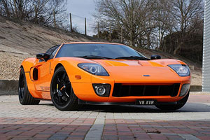 720bhp British Ford GT Supercar