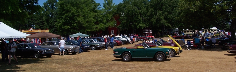 Blount County British Car Gathering