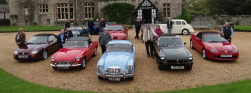 MGs at Beaulieu