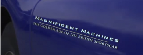 The Golden Age of the British Sportscar