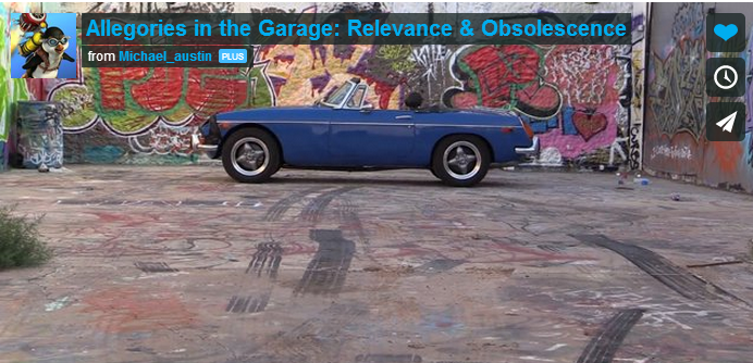 Allegories in the Garage - MGB