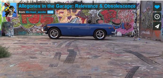 Allegories in the Garage - MGB