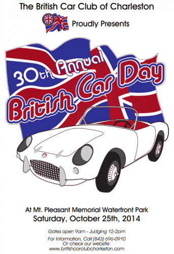 30th Annual British Car Day Charleston