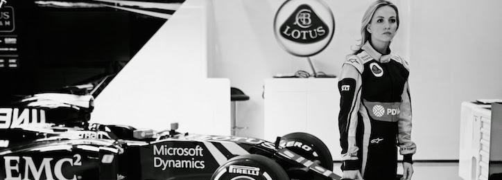 Carmen Jorda Lotus F1