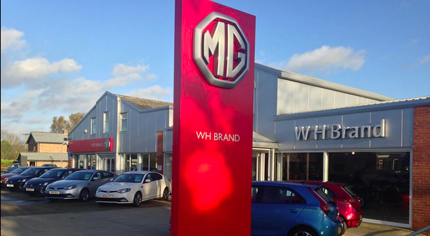 WH Brand MG Dealership