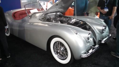 Amelia Island Concours 2015 - Jaguar 120