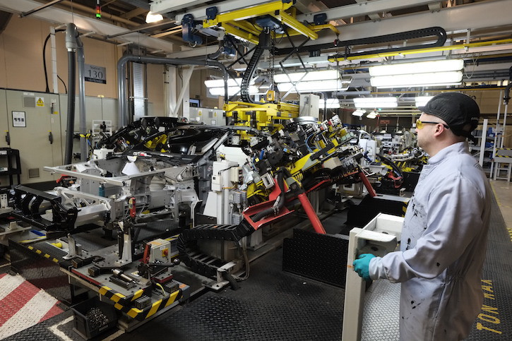 Aston Martin Production - Gaydon
