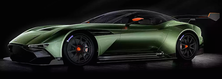 Aston Martin Vulcan at New York Auto Show