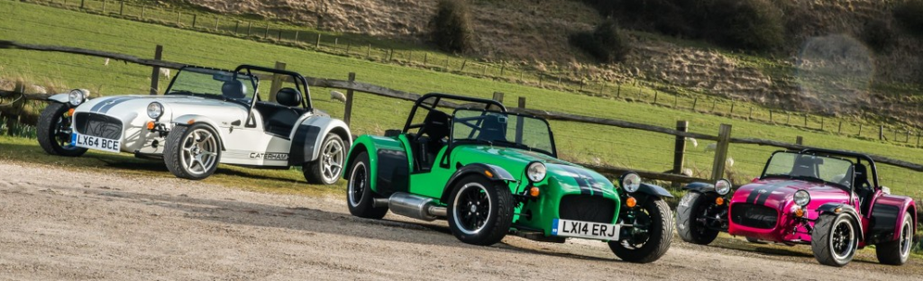 Caterham Unveils Three New Models