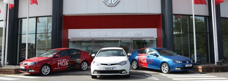MG Dealerships Great British Charity Test Drive