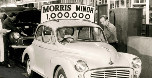 Millionth Morris Minor