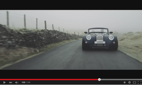 New Morgan Aero 8 Video
