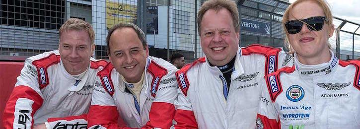 Aston Martin Wins 2015 Britcar Dunlop 24 Hours
