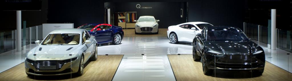 Aston Martin at Shanghai Auto Show