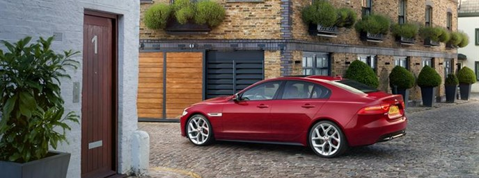 Jaguar XE Compact Sports Sedan