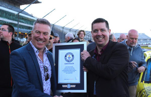 Lancaster Insurance and MG Owners Club set World Record