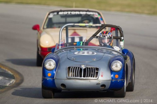 MG at The Classic Motorsports Mitty
