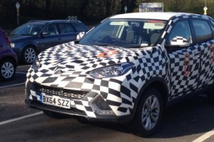 MG GS SUV Prototype Spied