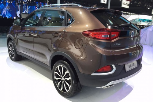 MG GS at Shanghai Auto Show
