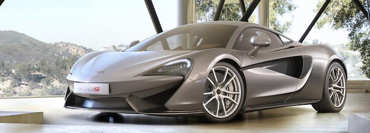 McLaren 570S Silver