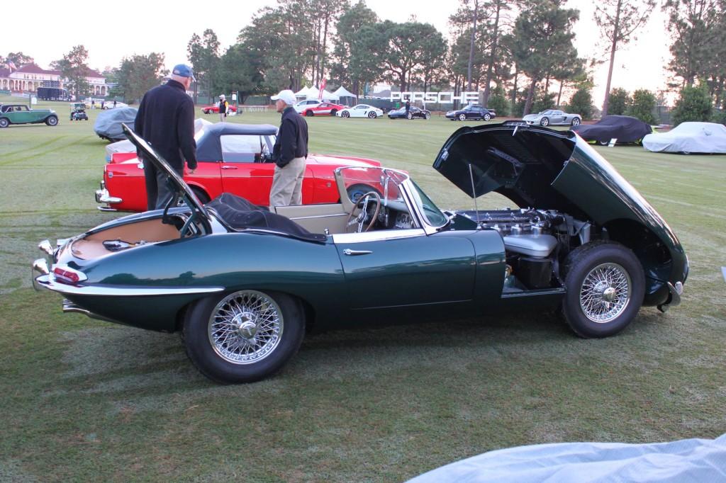 1967 Jaguar E-Type at Pinehurst Concours 2
