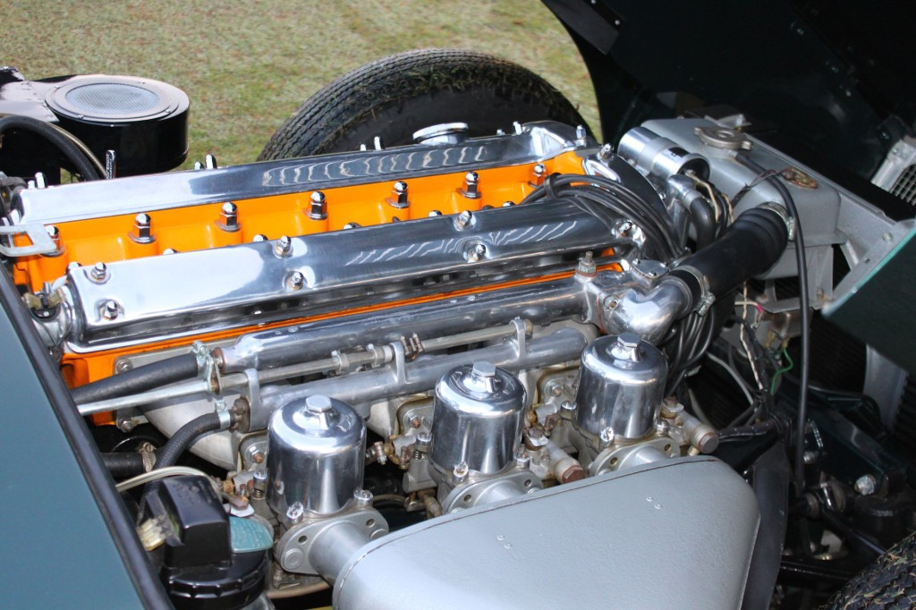 1967 Jaguar E-Type at Pinehurst Concours 3