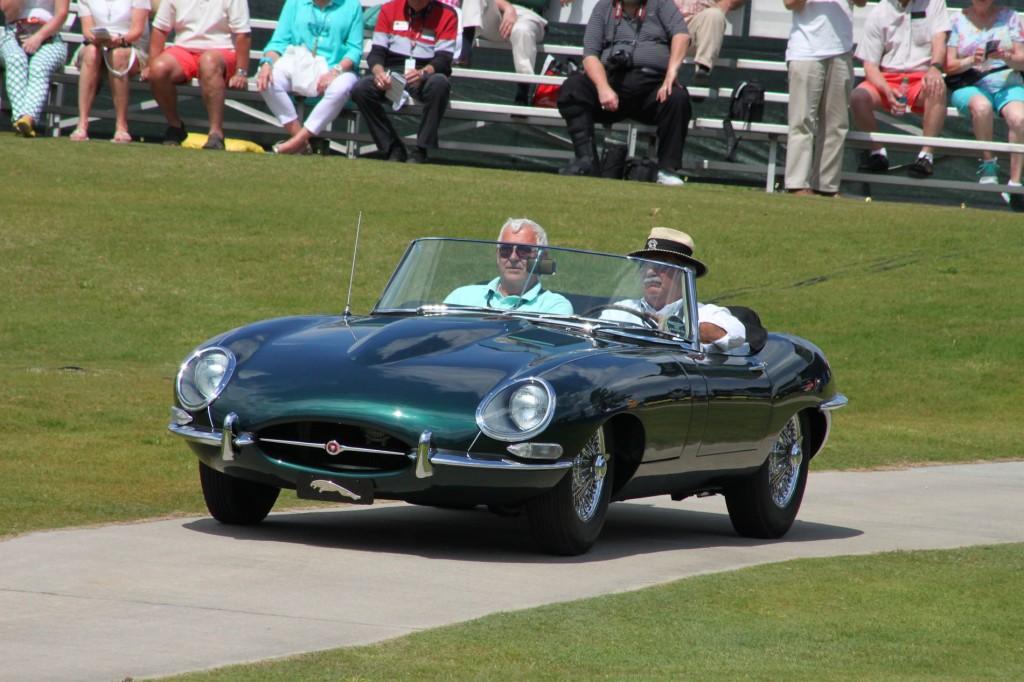 1967 Jaguar E-Type at Pinehurst Concours 5