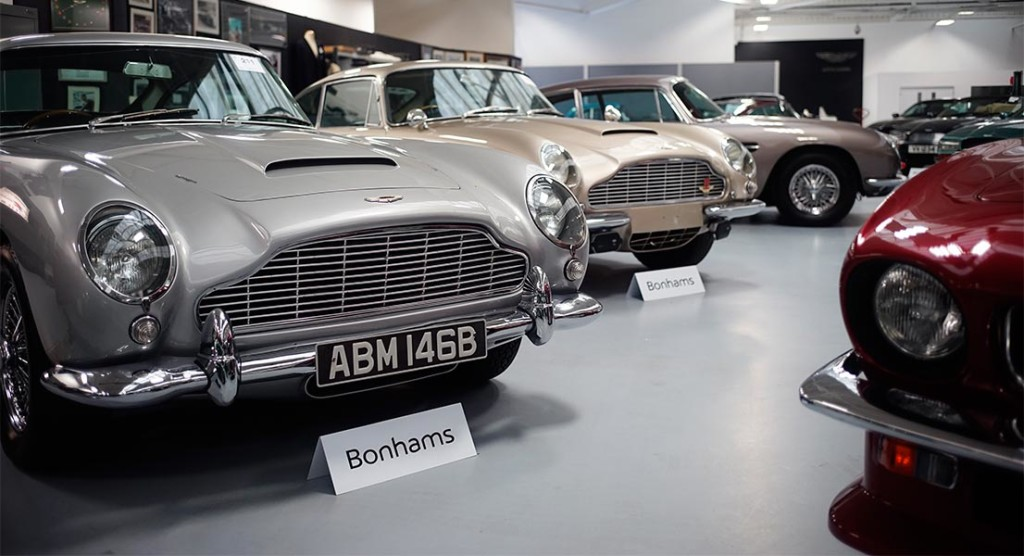 Aston Martin Sale by Bonhams
