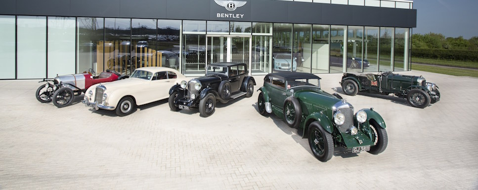 Classic Bentleys ready for action-packed summer season