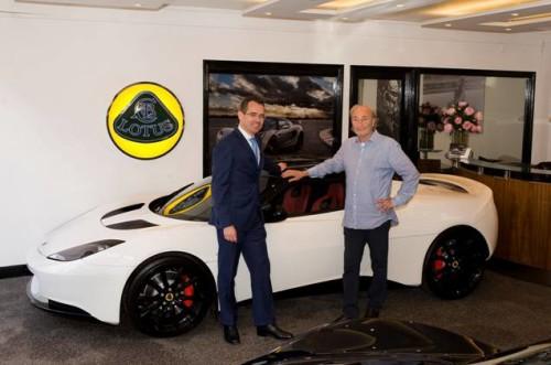 Lotus Cars Back in London