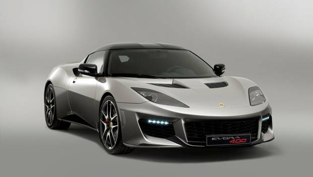 Lotus Evora 400 - Front 3/4 View