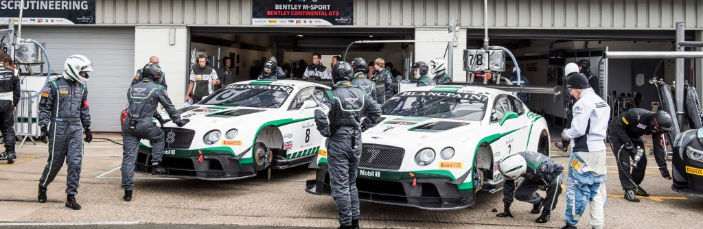 Bentley Motorsport is based at the Bentley Motors headquarters in Crewe. From there, the operation runs Bentley Team M-Sport, and oversees three Works-supported teams around the world; Bentley Team Dyson Racing in the U.S., Bentley Team HTP in Europe and Bentley Team Absolute Racing in China.