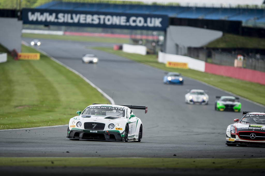 Top ten finishes for Bentley at Silverstone (2)