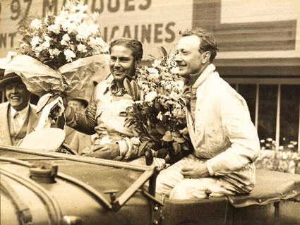 Woolf Barnato and Tim Birkin, Le Mans 1929