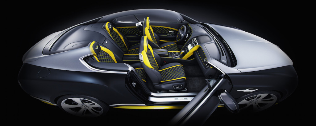 Bentley Continental GT Speed Breitling Jet Team Series Limited Edition Cutaway