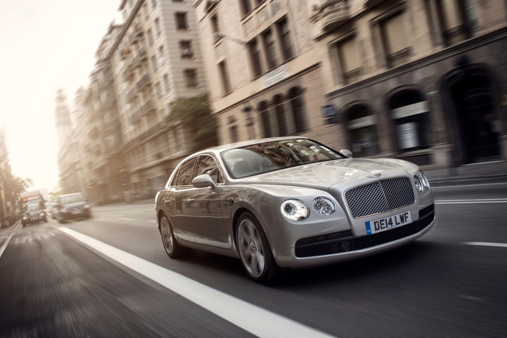 Bentley Flying Spur is Telegraph's Best Luxury Car 2015