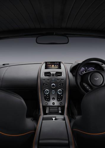 DB9 GT Interior