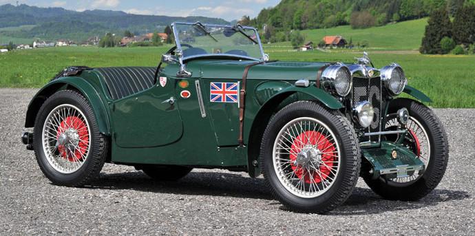 Ex-Works 1934 MG PAEx-Works 1934 MG PA/PB